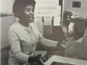 Lena McLin, one of the most prominent African-American vocal pedagogues